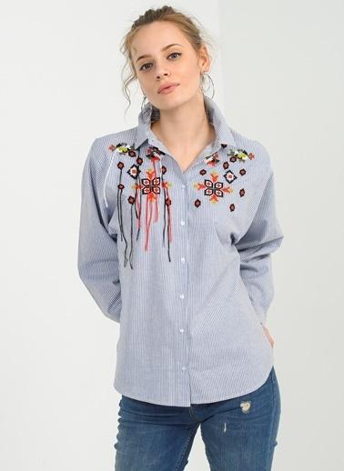 Nakışlı Gömlek-People By Fabrika